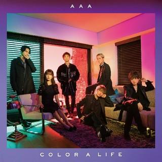 トリプルエー(AAA)のAAA COLOR A LIFE クリアポスター(ミュージシャン)