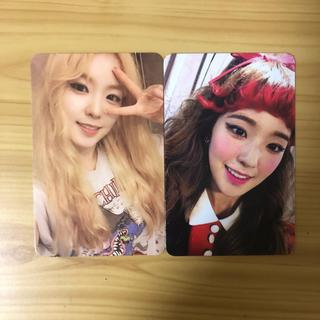 Red Velvet アイリン トレカセット(K-POP/アジア)
