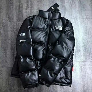 THE NORTH FACE - THE NORTH FACEレザーダウンジャケット