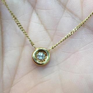 ネックレスK18ダイヤ(ネックレス)
