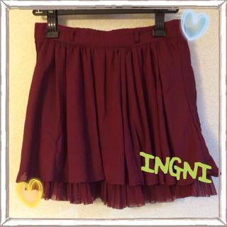 イング(INGNI)のイング♡ミニスカート(ミニスカート)