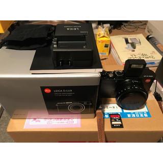 ライカ(LEICA)のLEICA D-LUX 新品未使用品(コンパクトデジタルカメラ)