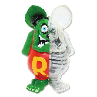 "シークレットベース(SECRETBASE)のRat Fink ""X-RAY Full Color Doll""(アメコミ)"
