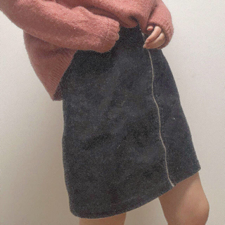 GU - ミニスカート 黒