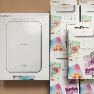 Canon - Canon ミニフォトプリンター iNSPiC + 専用用紙100枚付き