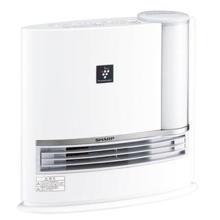 SHARP シャープ 加湿セラミックファンヒーター ホワイト HX-G120-W(ファンヒーター)