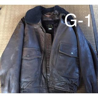 80's購入 G-1フライトジャケット 復刻品(レプリカ)本革(羊革)(フライトジャケット)