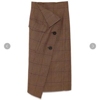 フレイアイディー(FRAY I.D)のフレイアイディー タイトラップスカート(ひざ丈スカート)