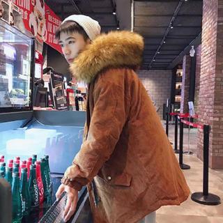 ザラ(ZARA)の韓国大人気!モッズコートオレンジ  Lサイズ(モッズコート)