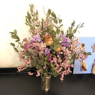 ドライフラワー 花束 ピンクパープル(ドライフラワー)