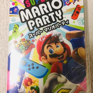 ニンテンドースイッチ(Nintendo Switch)の新品! Nintendo Switch スーパーマリオパーティー (家庭用ゲームソフト)