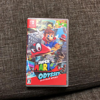 ニンテンドースイッチ(Nintendo Switch)のマッキーさん専用)スーパーマリオオデッセイ(家庭用ゲームソフト)