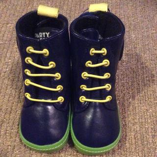 パーティーパーティー(PARTYPARTY)の新品☆PARTY PARTY ブーツ13cm(ブーツ)