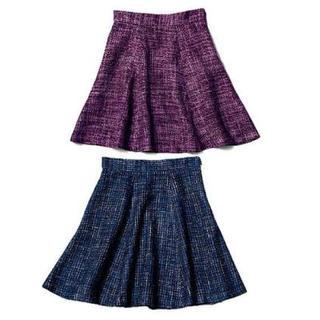 ジーユー(GU)のGU ツイードスカート(ミニスカート)