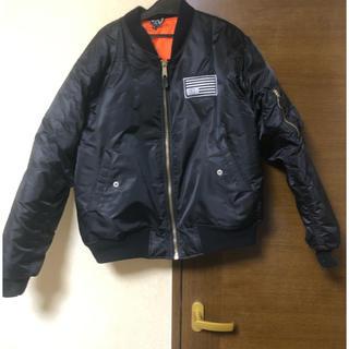 美品 格安 CIVIL MA-1 ジャケット 黒 Lサイズ(フライトジャケット)