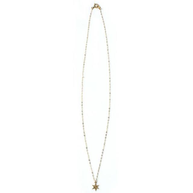 AURORA GRAN(オーロラグラン)のaurora gran ネックレス スター アメリカンラグシー  レディースのアクセサリー(ネックレス)の商品写真