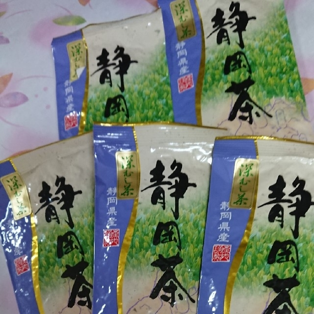静岡県産 深むし茶100 5袋の通販 by あんな s shop ラクマ
