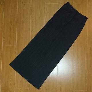 プリーツプリーズイッセイミヤケ(PLEATS PLEASE ISSEY MIYAKE)のりゅうしん様専用  プリーツプリーズ スカート ブラック(ロングスカート)
