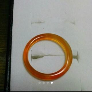 15号 右上1【数量限定  細い瑪瑙リング】 天然石メノウ リング(リング(指輪))