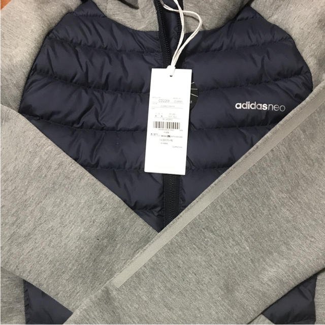 adidas(アディダス)の新品 アディダス adidas ハイブリッド ダウン パーカー ジャケット レディースのジャケット/アウター(ダウンジャケット)の商品写真