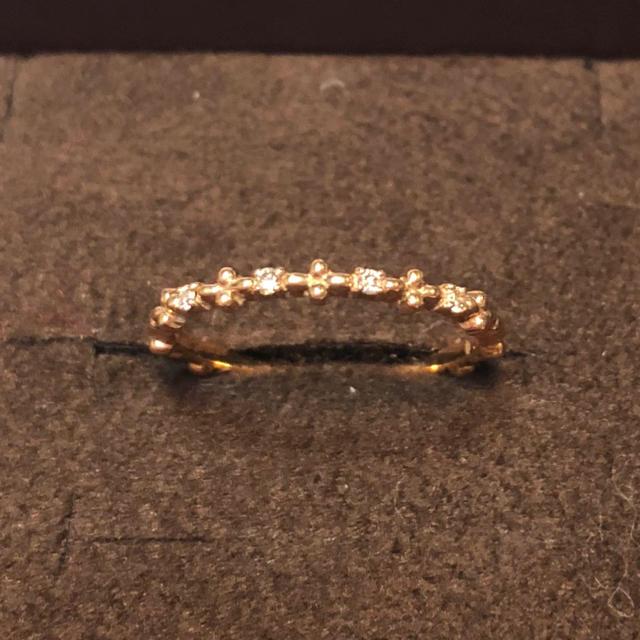 NOJESS(ノジェス)のNOJESS ノジェス ミモザリング 7号★美品 ダイヤモンド YG レディースのアクセサリー(リング(指輪))の商品写真