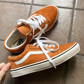 VANS - VANS OLD SKOOL DX オールドスクール ORANGE BEITER