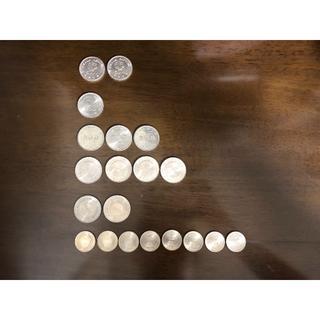 大阪万博 つくば万博 内閣制度百年等 記念硬貨 総額15,000円分 まとめ売り(貨幣)