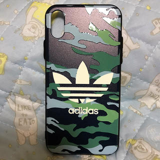 アディダス(adidas)のアディダス アイフォン 10ケース(iPhoneケース)
