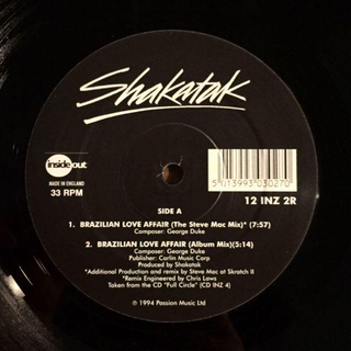 SHAKATAK / BRAZILIAN LOVE AFFAIR レコード(クラブ/ダンス)