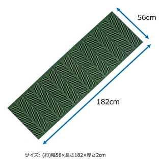 新品 キャプテンスタッグ(CAPTAIN STAG) キャンプ マット 1人用(寝袋/寝具)