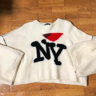 ラフシモンズ(RAF SIMONS)の国内正規品 raf simons ny sweater(ニット/セーター)