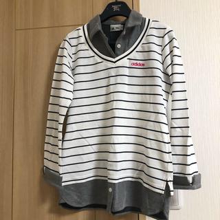 アディダス(adidas)のレディース♡ゴルフ用レディースシャツ(ポロシャツ)
