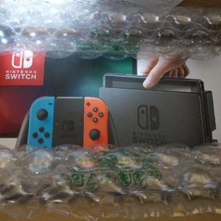 ニンテンドースイッチ(Nintendo Switch)のNintendo Switch ネオンブルー ネオンレッド (家庭用ゲーム本体)