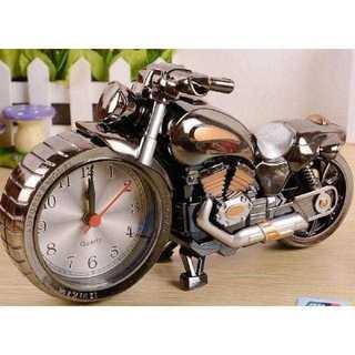 ハーレー風目覚まし時計 新品(置時計)