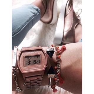 UNITED ARROWS - CASIO カシオ ヨーロッパライン ベーシック デジタル 腕時計 ブロンズ