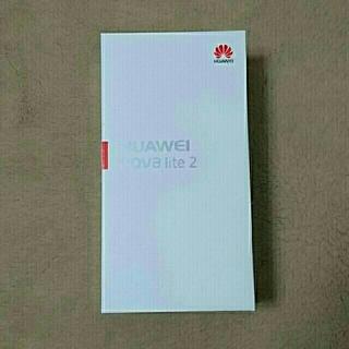 HUAWEI nova like2 国内購入  SIMフリー 未開封  ブルー(スマートフォン本体)