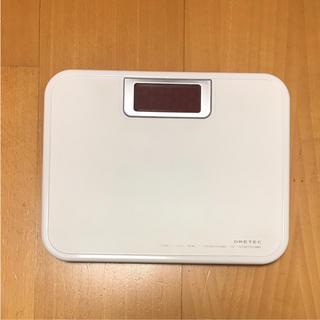 ドリテック DRETEC 体重計