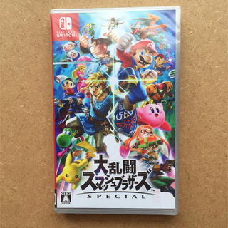 ニンテンドースイッチ(Nintendo Switch)の【新品】大乱闘スマッシュブラザーズ switch(その他)