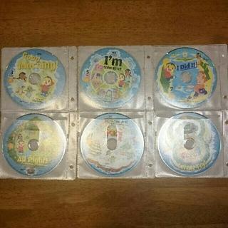 こどもちゃれんじ ほっぷ English DVD 6枚セット