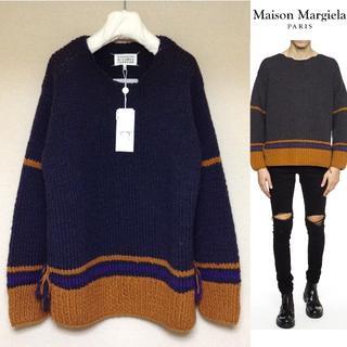 マルタンマルジェラ(Maison Martin Margiela)の新品■マルジェラ17aw■ボートネックビッグシルエットニット■4686(ニット/セーター)