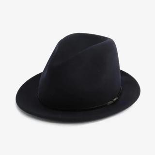 プラステ(PLST)の新品 未使用 SORBATTI ソルバッティ ハット ネイビー 帽子(ハット)