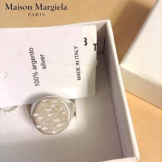 マルタンマルジェラ(Maison Martin Margiela)の新品■S■17aw マルジェラ■925刻印シルバーリング■指輪■4728(リング(指輪))