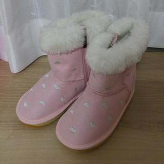 ミキハウス(mikihouse)のハート刺繍ブーツ(ブーツ)