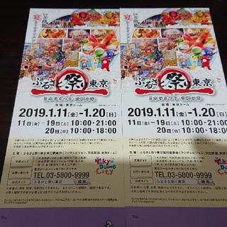 送込 ふるさと祭り東京2019 2枚セット(その他)