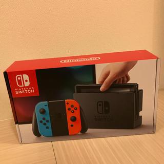 ニンテンドースイッチ(Nintendo Switch)の任天堂 Switch 本体 ネオンカラー【未使用】(家庭用ゲーム本体)