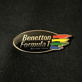 ベネトン(BENETTON)のBenetton Formula 1;【新品】バッヂ(ノベルティグッズ)