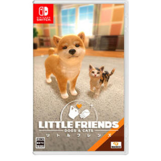 ニンテンドースイッチ(Nintendo Switch)のリトルフレンズ ドッグスアンドキャッツ(携帯用ゲームソフト)