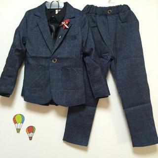 上下5点セット 子供スーツ タキシード フォーマル(ドレス/フォーマル)