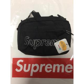 シュプリーム(Supreme)のSupreme Shoulder Bag 18aw 黒(ショルダーバッグ)