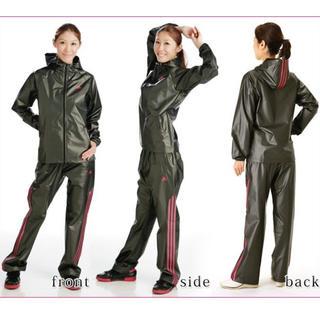 アディダス(adidas)のアディダス サウナスーツ レディース Lサイズ (トレーニング用品)